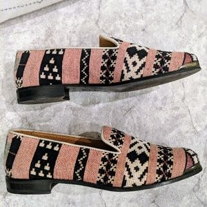 Cobra Society Tapestry Tweed patterned loafer